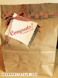 Easy Gift Wrap Bag