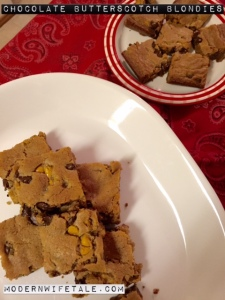 Blondies - Yummy!