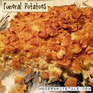 Funeral Potatoes - Side Dish Casserole